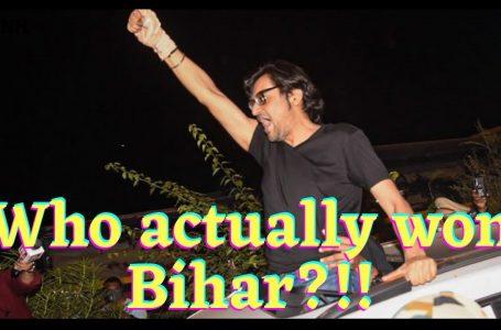 Who actually won Bihar?
