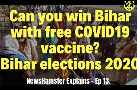 Can you win Bihar with free COVID19 vaccine? Bihar Elections 2020 Explains Ep.13