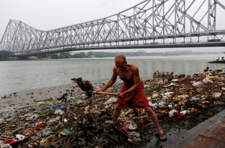 Drinking of  Ganga Water regardless of the harmful effects