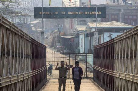 India Seals Myanmar Borders