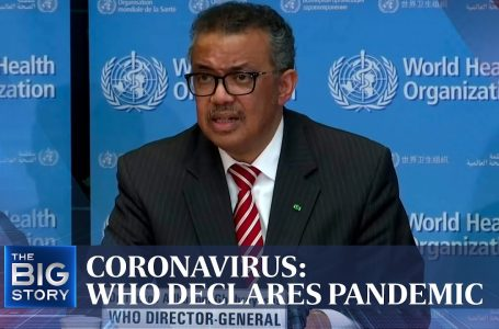 A year since the UN declared COVID-19 as a pandemic