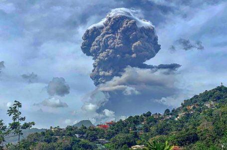 St Vincent: Biggest Volcanic Explosion of Modern Day