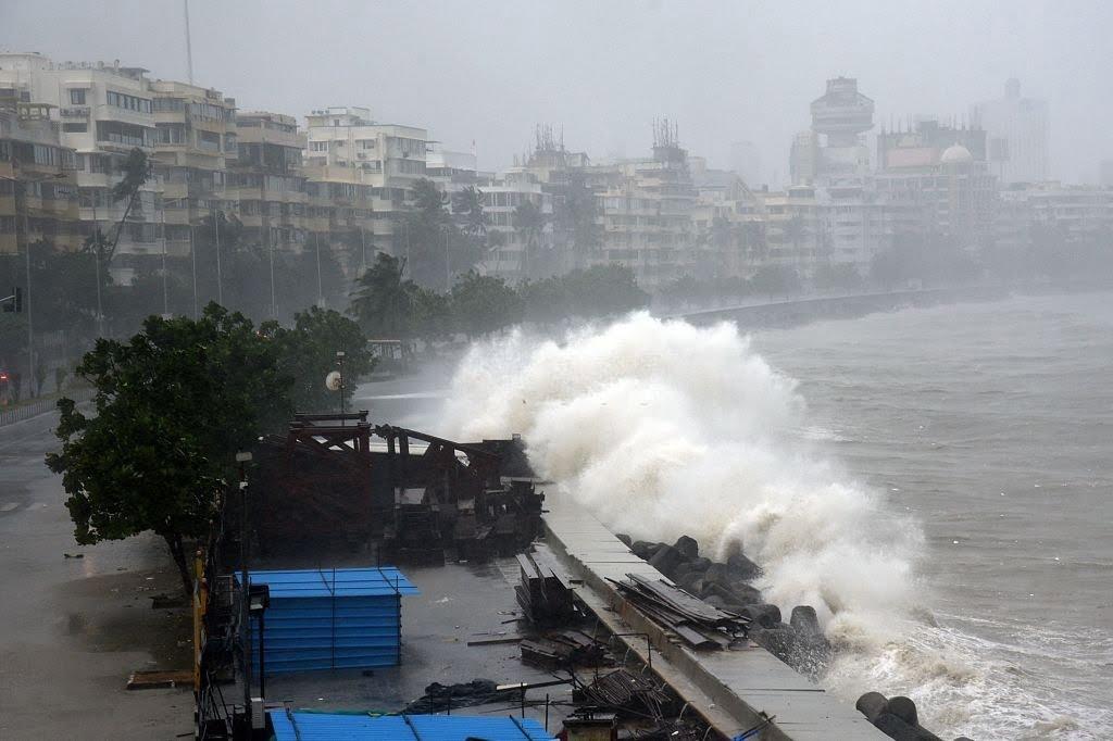 Ruinous waves of Tauktae