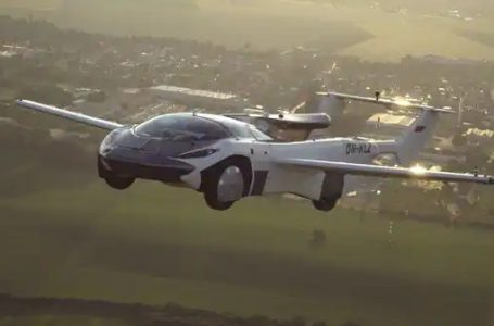 Dream turned into reality: Flying car is here