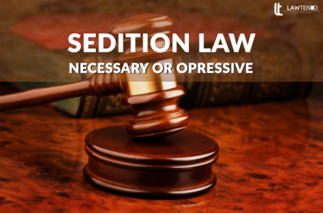 Sedition Law: A cry for Neosporin or Amputation.