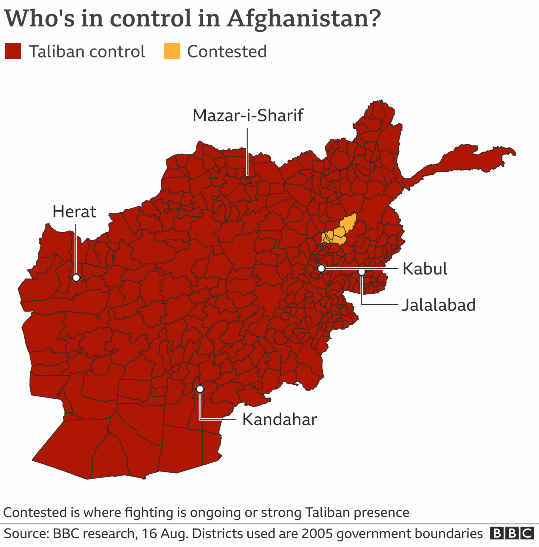 How Afghanistan fell to Taliban