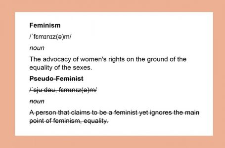 Feminism and misandry: the need for awareness