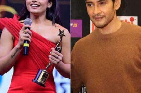 SIIMA 2021 – Rashmika Mandanna and Mahesh Babu shine